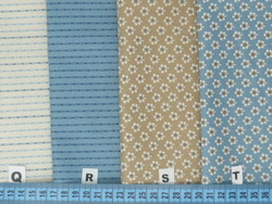 Références : Q - R - S - T - Blue sky by Laundry Basket Quilts for ANDOVER