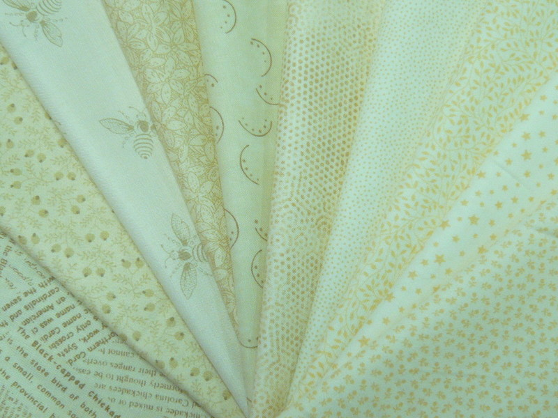 faux unis ecru ivoire et naturel au fil de flo tissus mercerie patchwork broderie. Black Bedroom Furniture Sets. Home Design Ideas