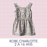 Patrons de couture Madame Mamam - Robe Charlotte